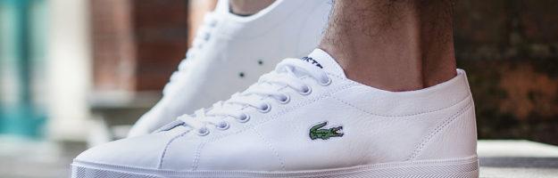 lacoste Weisse Schuhe
